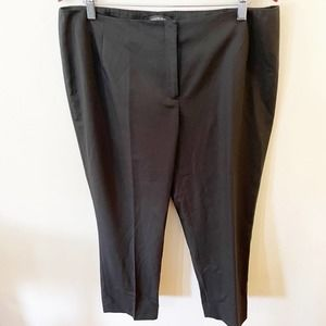 Lafayette 148 New York Tapered Ankle Crop Pant 14W